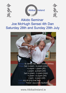 Athboy June 2012 Joe McHugh Sensei