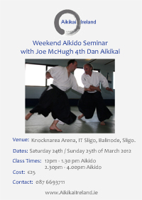 Sligo Joe McHugh March Course